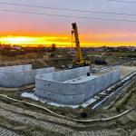 montaż zbiorników w Chojnicach